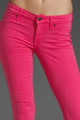 Rich & Skinny Legacy Jeans in Pink (sunset) - Lyst