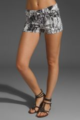 Textile Elizabeth And James Ruby Cut Off Shorts - Lyst