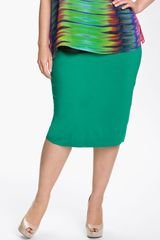 Vince Camuto Slim Knit Skirt - Lyst