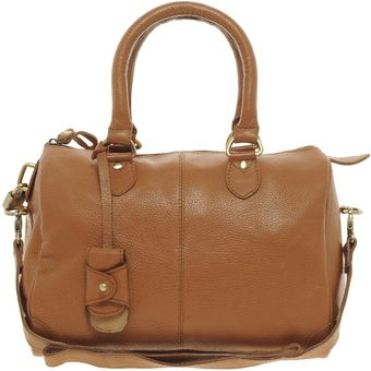 Asos Leather Bowler Bag - Lyst