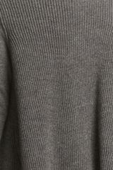 Lanvin Drape Rib Knit Cardigan in Gray (grey) - Lyst