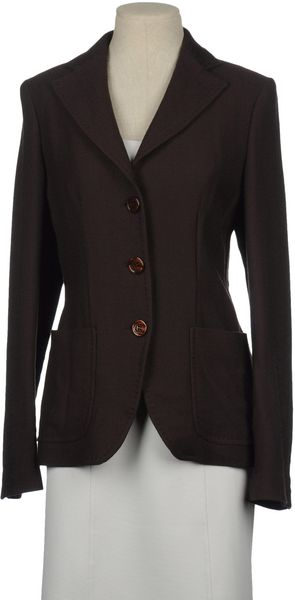 Liu Jo Liu Jo Blazers in Brown - Lyst