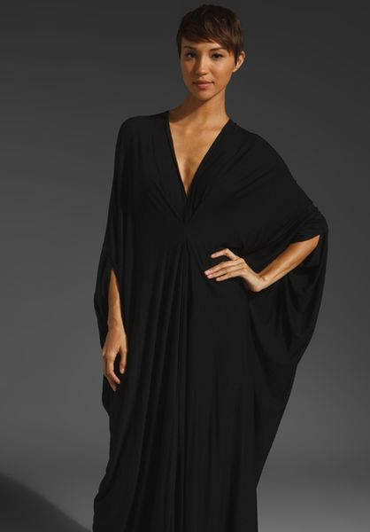 Rachel Pally Gwyneth Caftan in Black - Lyst
