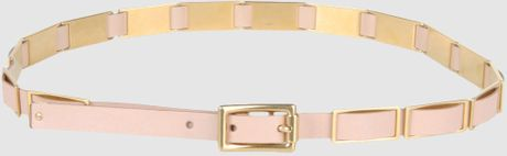 Celine Belt in Black - Lyst