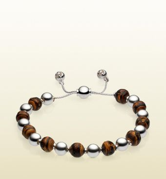 Bamboo Beads Bracelet.  Gucci.  395.