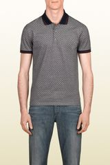 Gucci Short Sleeve Polo - Lyst