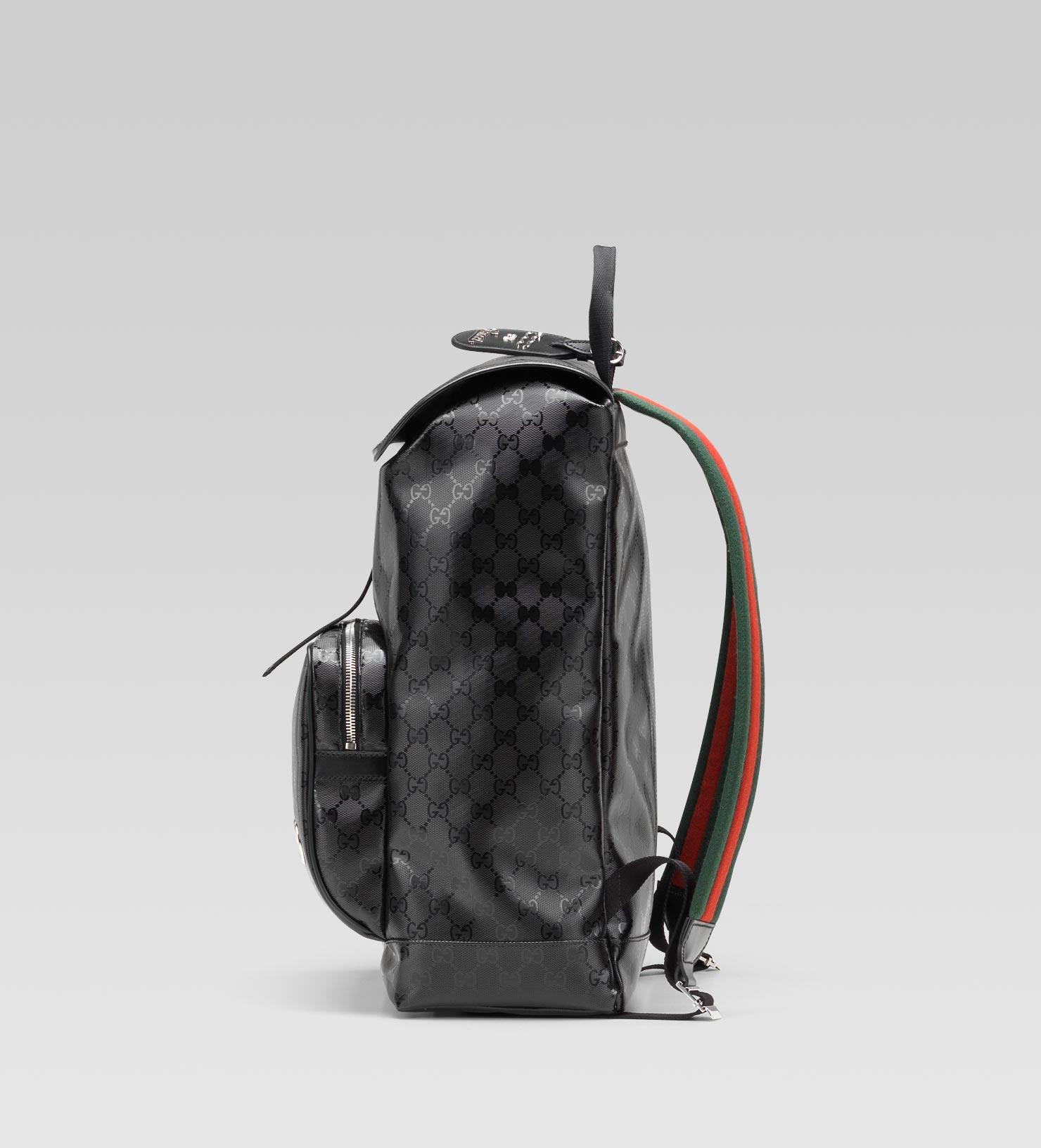Lyst Gucci Backpack In Black For Men