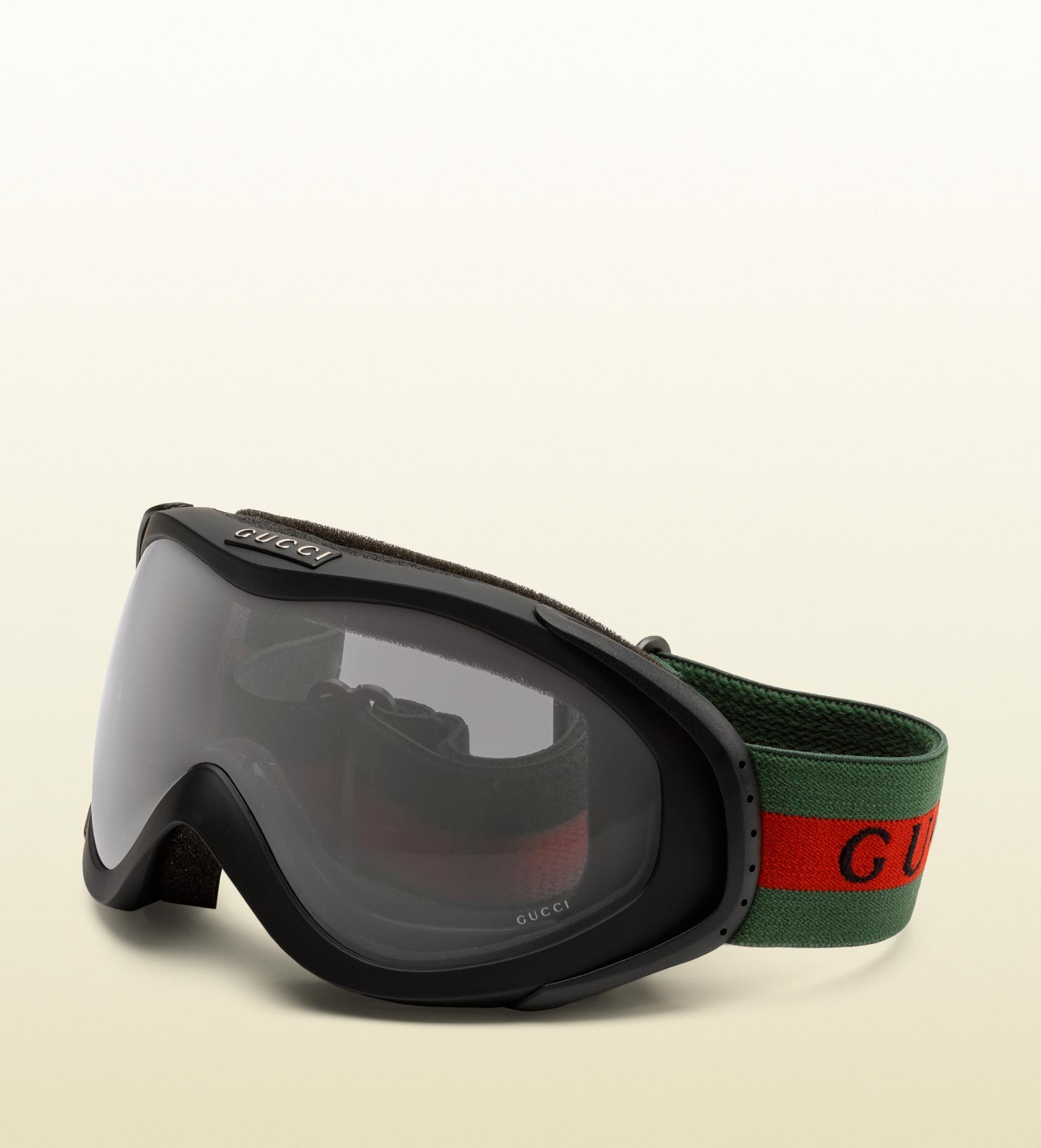 55ef5c0cc55a Lyst - Gucci Ski Goggles With Logo And Signature Web Detail in Black ...