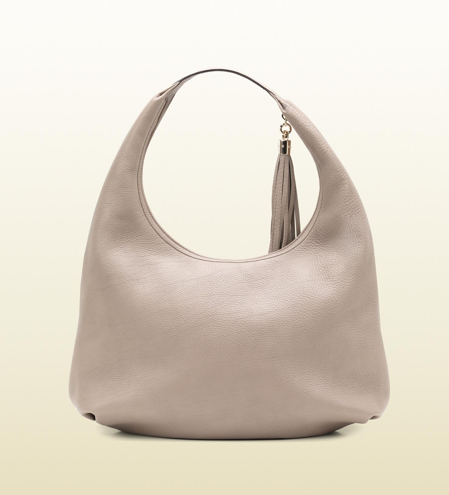 737e18ce868c Lyst - Gucci Soho Fango Colour Leather Hobo in Gray