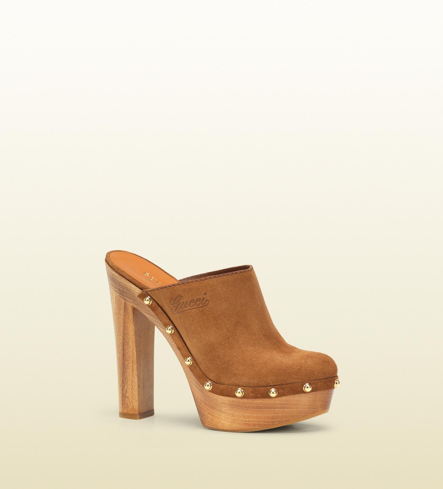 High Heel Clog Shoes