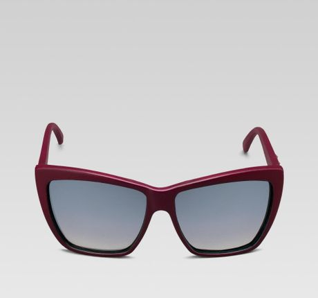 Gucci Special Edition Medium Rectangle Frame Sunglasses in ...