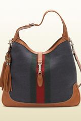 Gucci New Jackie Felt Shoulder Bag - Lyst