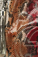 Gucci Soho Multi Color Python Shoulder Bag - Lyst