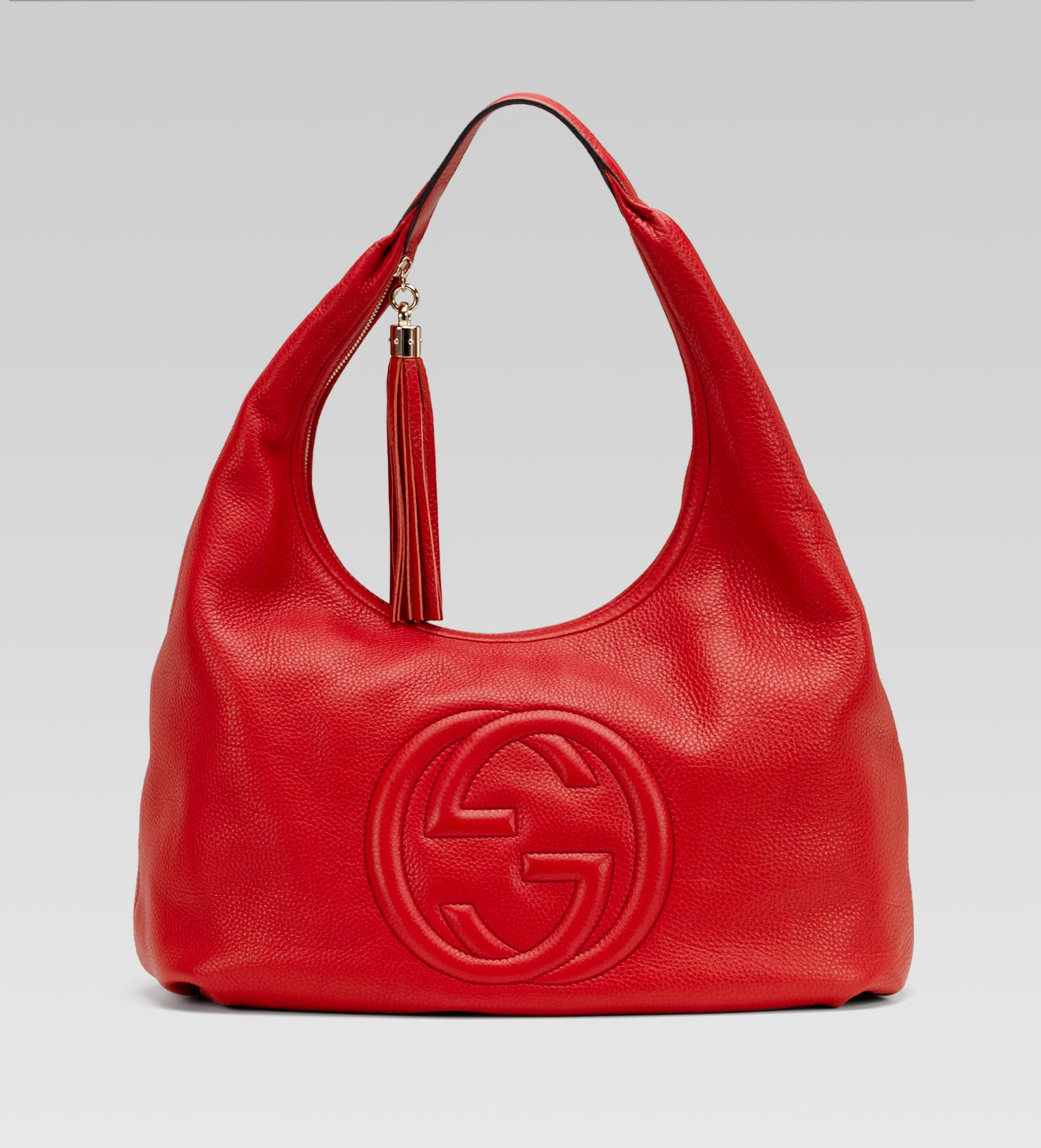 Gucci Soho Hobo in Red | Lyst