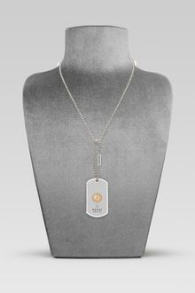 Gucci Dog Tag Necklace with Grammy Logo Engraving - Lyst