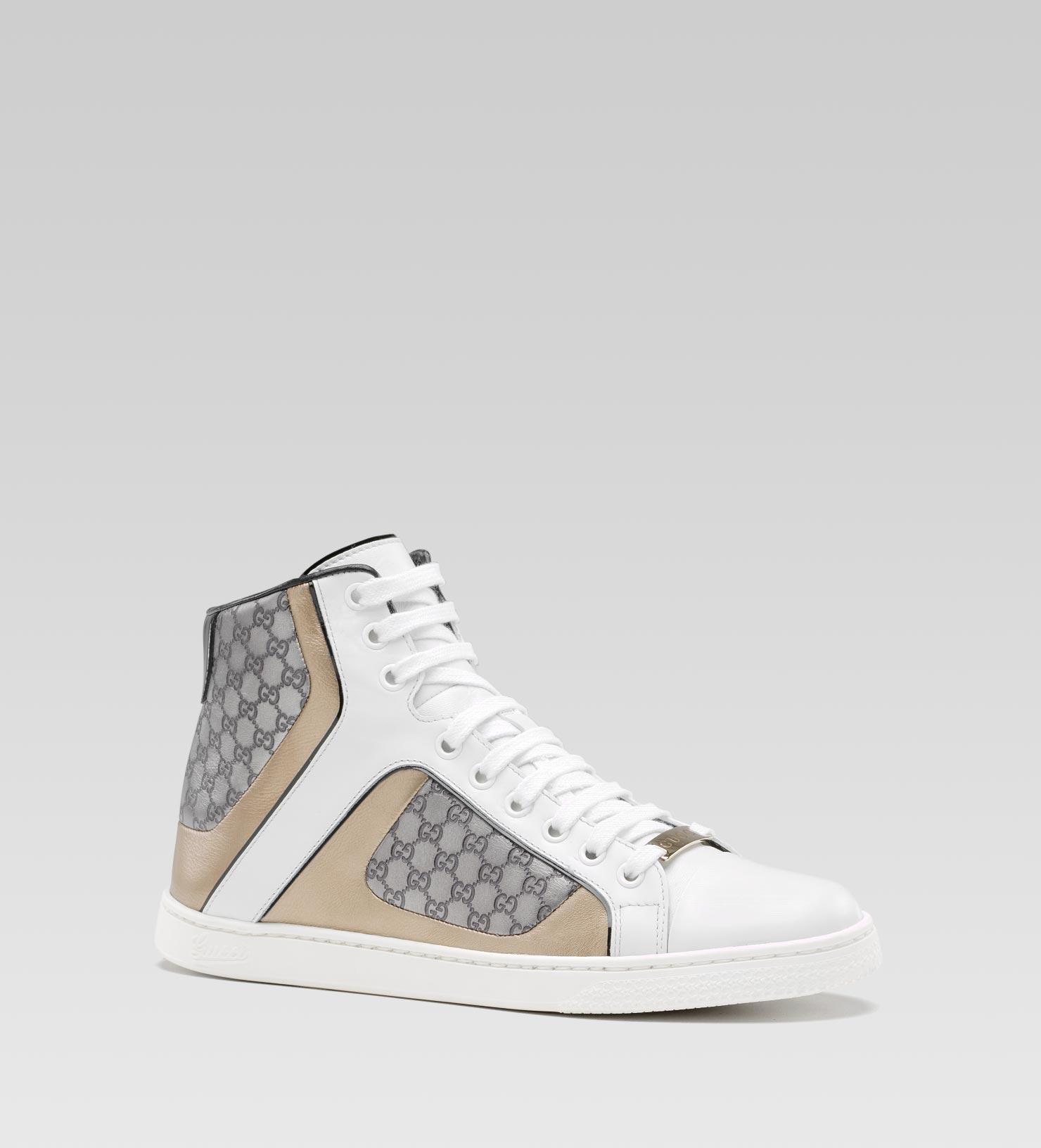 c22c0c091e6 Lyst - Gucci Coda Pop Hightop Sneaker in White