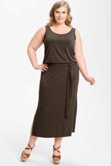 Michael by Michael Kors Sleeveless Blouson Maxi Dress - Lyst