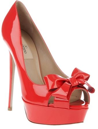 Valentino Bow Detail Pump - Lyst