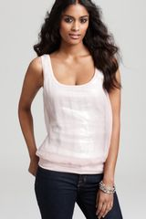 Bailey 44 Tank Chiffon and Sequin - Lyst
