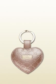 Gucci Heart Key Ring - Lyst