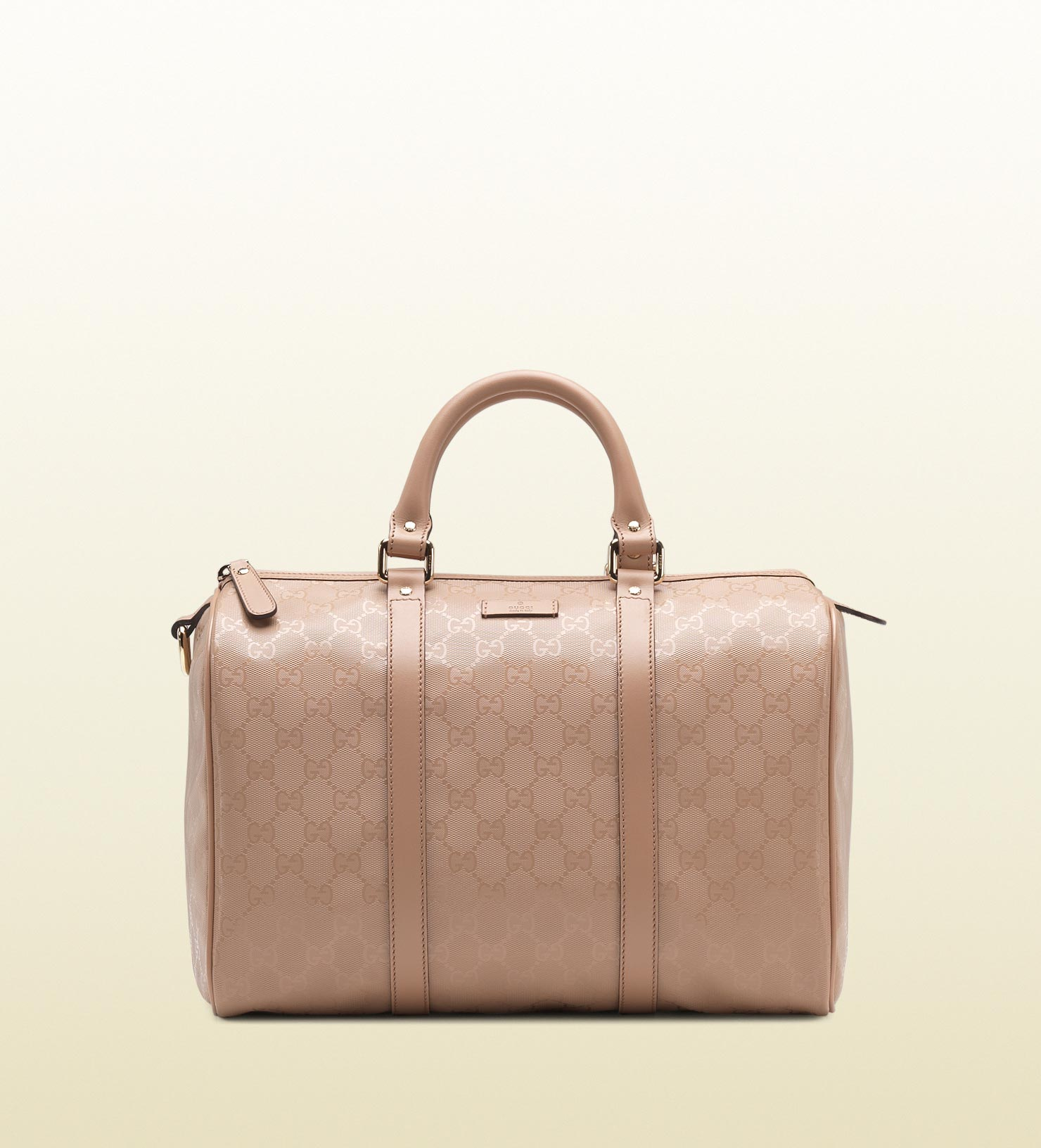 Lyst - Gucci Joy Leather Boston Bag in Pink