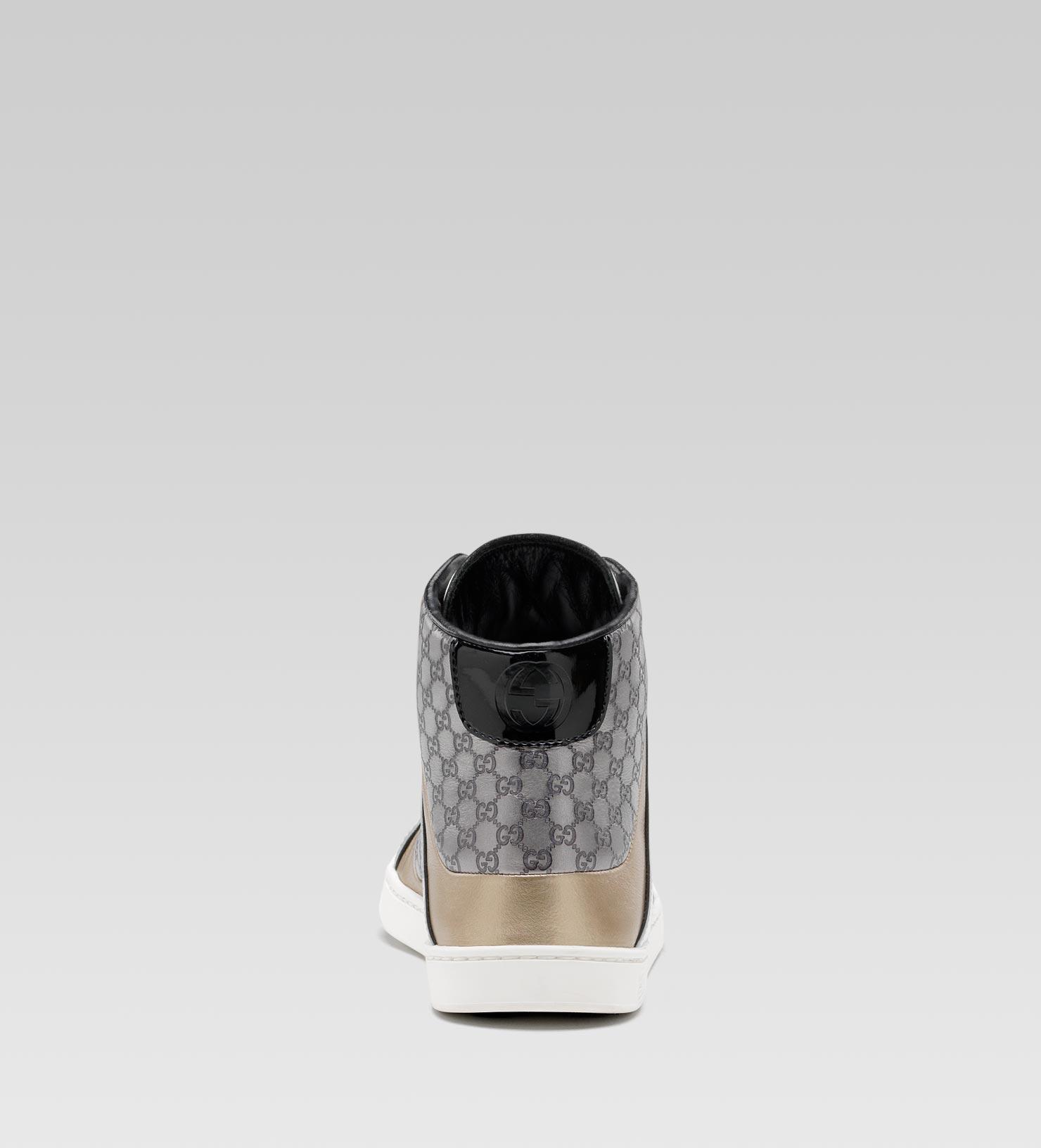 17363eef5 Gucci Coda Pop Hightop Sneaker in White - Lyst