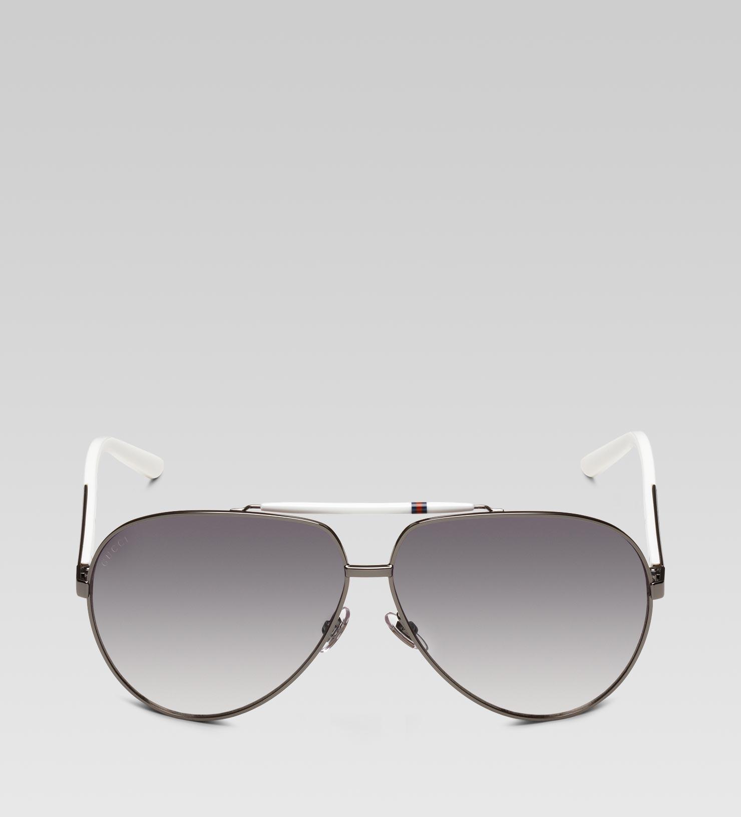 05ab3b8ffd0 Mens White Aviator Sunglasses « One More Soul