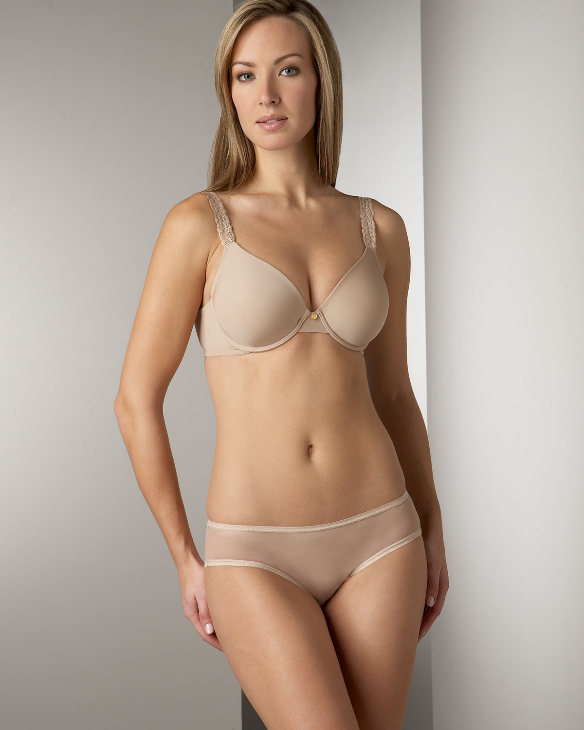 lyst - natori lacetrim bra in natural