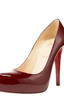 Christian Louboutin Rolando Hidden-platform Pump, Patent Leather - Lyst