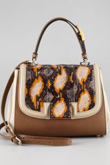 Fendi Silvana Flaptop Bag - Lyst