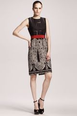 Giambattista Valli Paisleyskirt Sheath Dress - Lyst