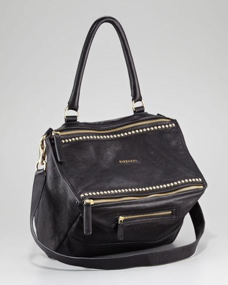 Givenchy Studded Pandora Shoulder Bag in