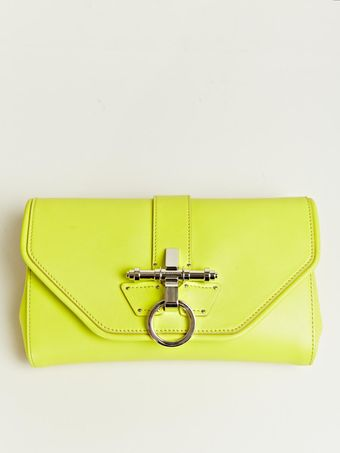 Givenchy Givenchy Womens Obseida Clutch with Chain - Lyst