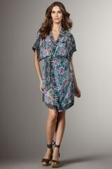 Jean Paul Gaultier D Silk Coverup in Multicolor (aztec sardegna) - Lyst