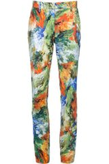 Jean Paul Gaultier Printed Trouser