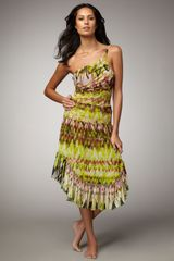 Jean Paul Gaultier Printed Skirtdress Coverup - Lyst