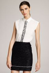 Marc Jacobs Eyelash-tweed Skirt - Lyst