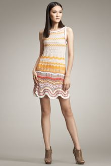 Missoni Canasta Crochet Dress - Lyst