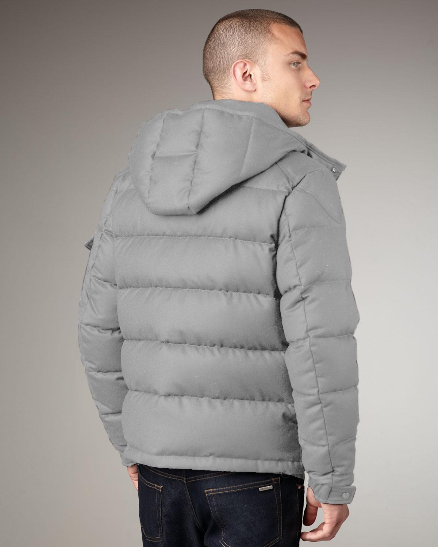 moncler grey coat mens