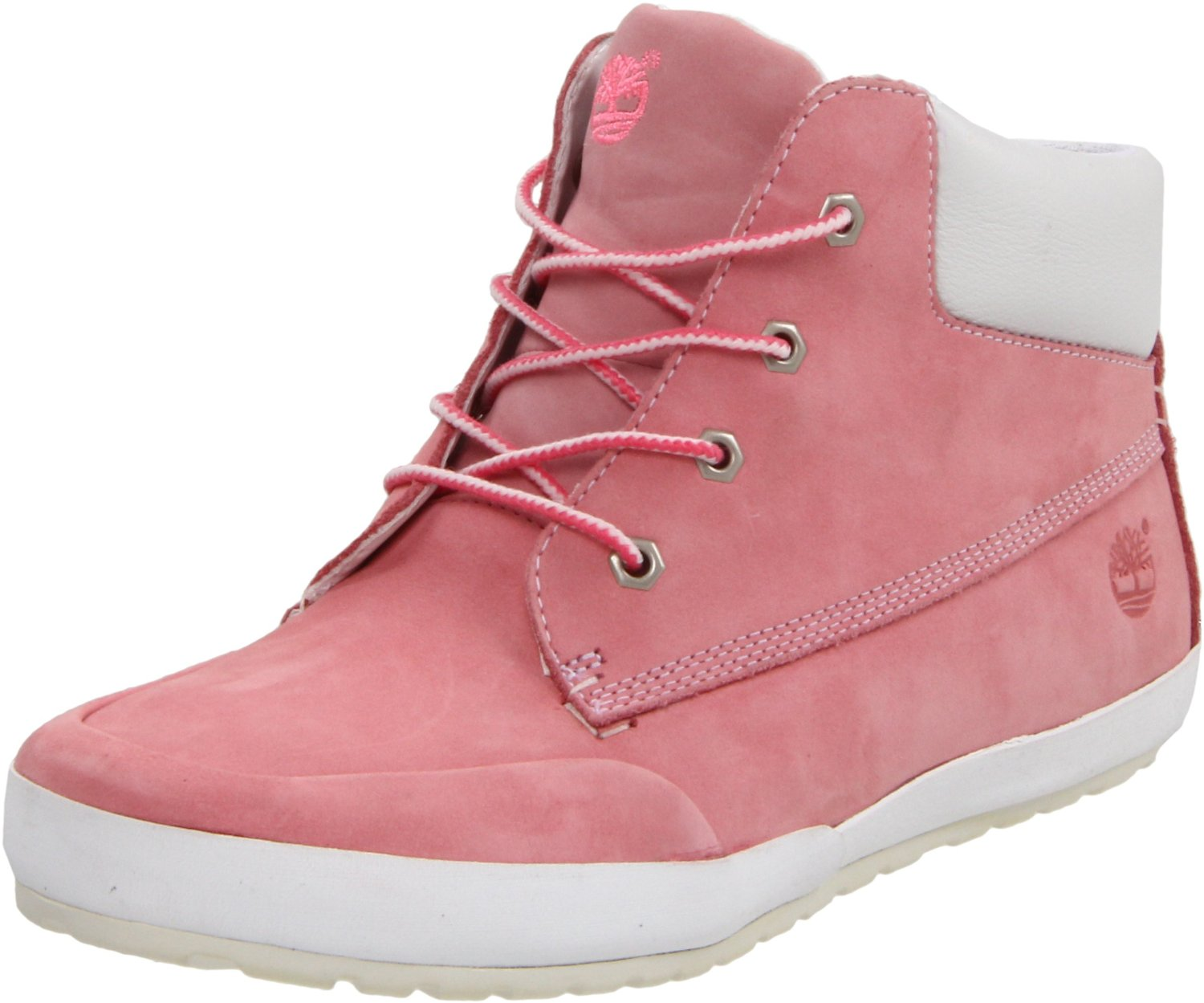 timberland timberland womens a lounger boot in brown pink