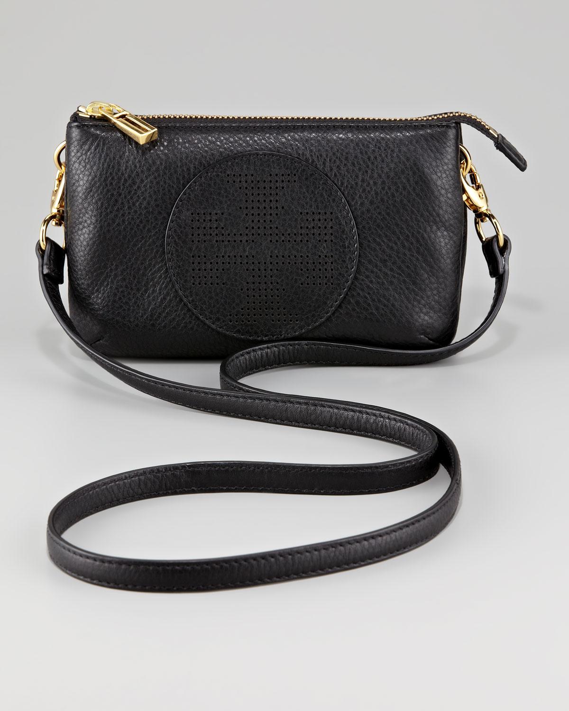 0f65e64e160 Lyst - Tory Burch Kipp Small Crossbody Bag in Black