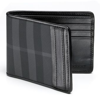 Burberry Brit Check Hipfold Wallet - Lyst