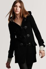 Burberry Brit Toggle Coat - Lyst