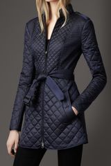 Burberry Multi Quilted Coat - Lyst