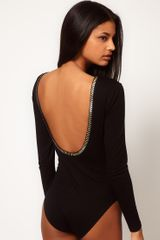 ASOS Collection Asos Body with Stud Backless Detail - Lyst