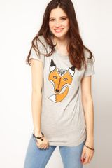 ASOS Collection Asos Foxy Tshirt - Lyst