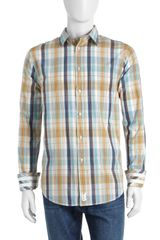 Canterbury Of New Zealand Doc Plaid Sport Shirt  - Lyst