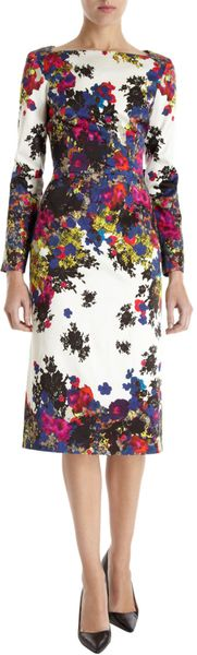 Erdem Irene Dress in Multicolor - Lyst