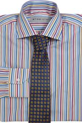 Etro Stripe Dress Shirt - Lyst