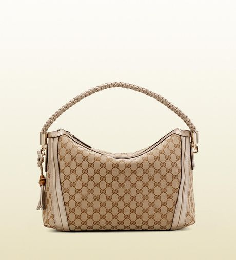 Gucci Bella Hobo in Gold - Lyst